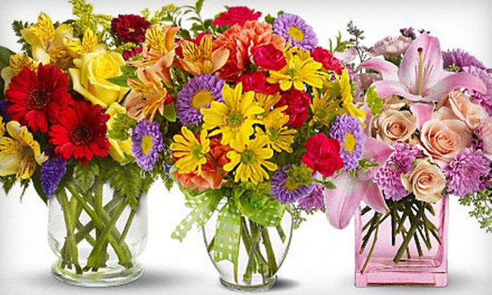 Family Florist - Deer Park: $75 Worth of Bouquets, Gift Baskets & Candles