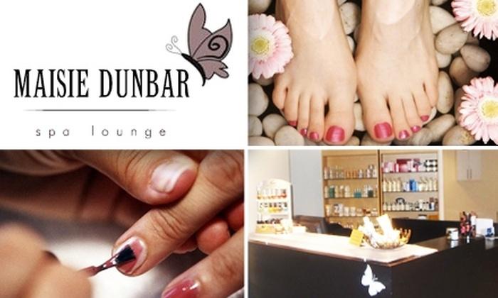 Maisie Dunbar Spa Lounge  - Silver Spring: $38 SugarButter Mani-Pedi at Maisie Dunbar Spa Lounge