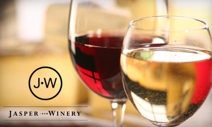 Jasper Winery - Southwestern Hills: $20 for a 4-Person VIP Wine Tasting ($40 Value) or $35 for an 8-Person VIP Wine Tasting ($80 Value) at Jasper Winery