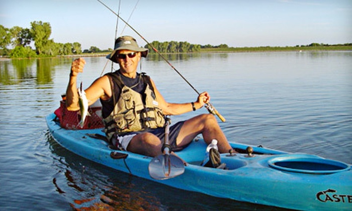Kayakjak's Outfitters - Benkelman No. 1: Full-Day Guided Kayak Fishing Trip for One or Two from Kayakjak's Outfitters in Benkelman (Up to 54% Off)