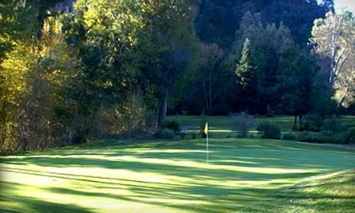 Deep Cliff Golf Course - Cupertino: $22 for One Round of Golf, Pull-Cart Rental, and One Range Token at Deep Cliff Golf Course in Cupertino (Up to $44 Value)
