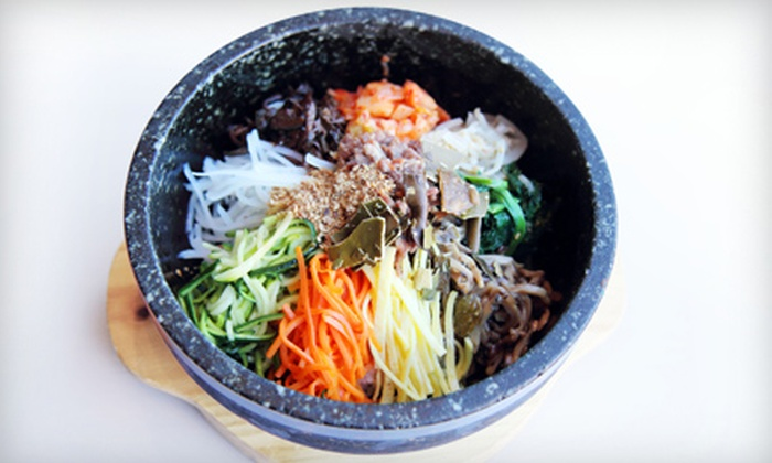 Gam Mee Ok - North Jersey: $25 for a Prix Fixe Korean Dinner for Two at Gam Mee Ok in Fort Lee (Up to $61.91 Value)