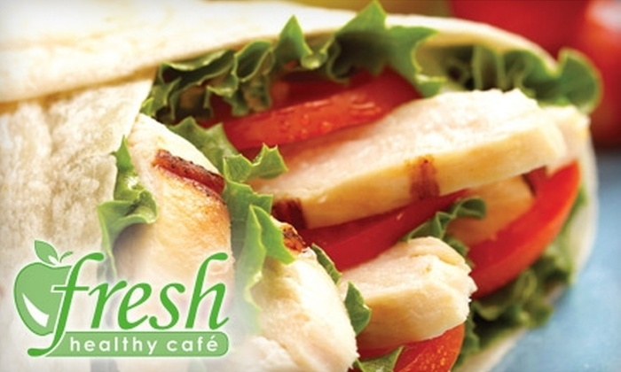 Fresh Healthy Café - Port Orange: $5 for $10 Worth of Paninis, Wraps, and Smoothies at Fresh Healthy Café in Port Orange