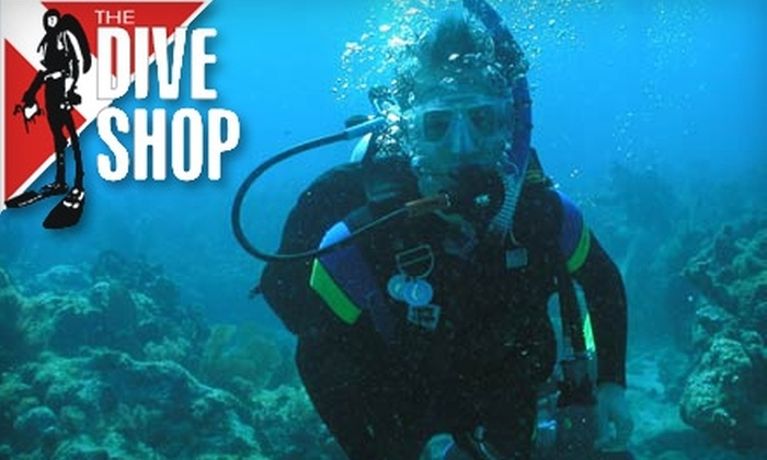 The Dive Shop - White Station -Yates Neighborhood Association: $15 for One Try Scuba Diving Lesson at The Dive Shop