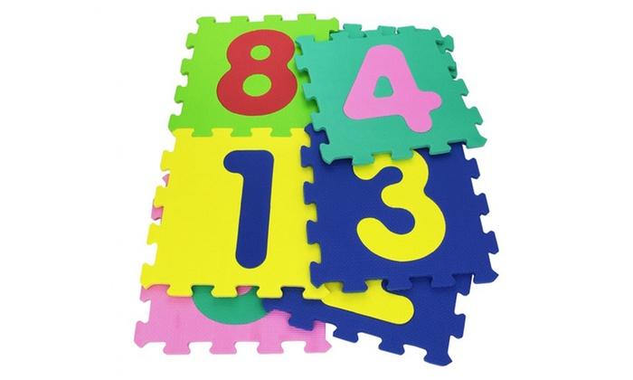 TitoloTappeto morbido a forma di puzzle per bambini disponibile in 2 modelli