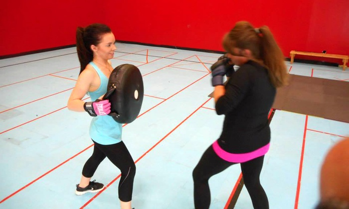 Reality Strikes Self-defense & Fitness - Southgate Community Center: 5 or 10 Self-Defense Classes at Reality Strikes Self-defense & Fitness (51% Off)