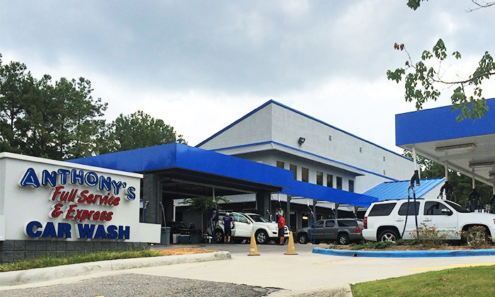 Anthony's Full Service & Express Car Wash - Multiple Locations: $15 for an Anthony's Famous Wash at Anthony's Full Service & Express Car Wash ($30 Value)