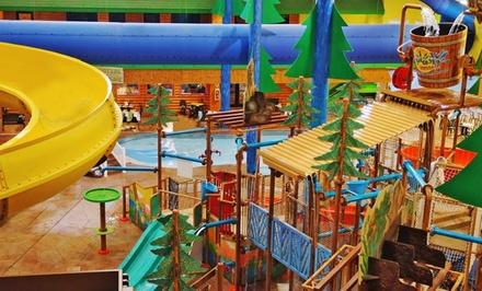 1 Night Water Park Package for Four in a King or Two-Queen Room at Splash Universe Water Park Resort in Dundee, MI