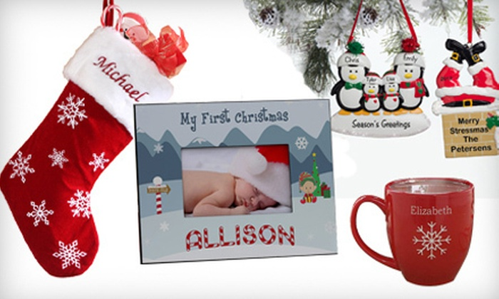 PersonalizationMall.com: $20 for $40 Worth of Personalized Gifts from PersonalizedMall.com