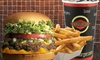 Fatburger - Canada (Old Acct) DUPE - Multiple Locations: C$7 for a Fatburger with Cheddar Cheese, Fries, and a Bottomless Drink at Fatburger (C$12.67 Value)
