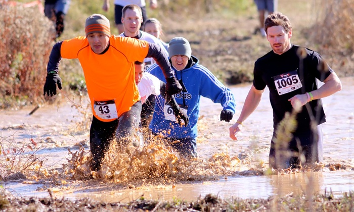 Mud Dog Run - Frederick: 5K Mud Run for One or Two from Mud Dog Run (47% Off)