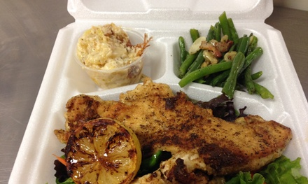Up to 40% Off Hearty Gourmet Lunch at The Lunch Ladies