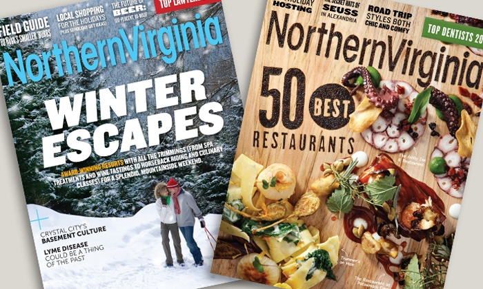 "Northern Virginia Magazine: One- or Two-Year Subscription to ""Northern Virginia Magazine"" (50% Off)"