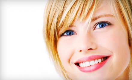 45-Minute Teeth-Whitening Treatment with Option for Whitening Pen at Express Teeth Whitening Center (Up to 74% Off)