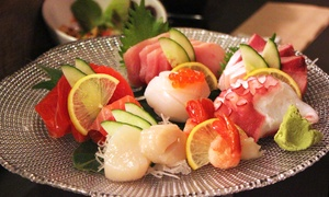 Sushi House: $17 for $30 Worth of Sushi and Japanese Cuisine for Dinner at Sushi House