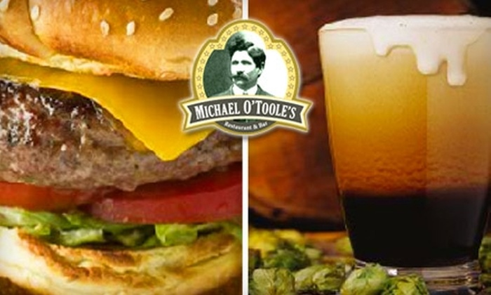 Michael O'Toole's - Downtown Columbus: $10 for $20 of Food and Drinks at Michael O'Toole's Restaurant and Bar