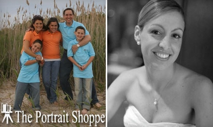 "The Portrait Shoppe Photographers - Hicksville: $69 for a 30-Minute Photography Session Including a CD/DVD of Digital Images and One Retouched 8""x10"" Print from The Portrait Shoppe Photographers in Hicksville ($150 Value)"