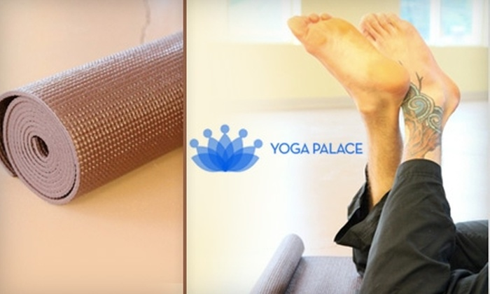 Yoga Palace - Dilworth: $39 for One Month of Unlimited Yoga Classes at Yoga Palace ($120 Value)
