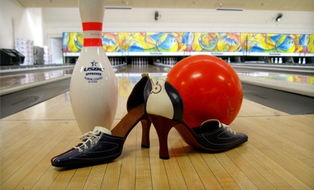 $15 for Bowling and Shoe Rental for Two at Albany Bowl (Up to $30 Value)