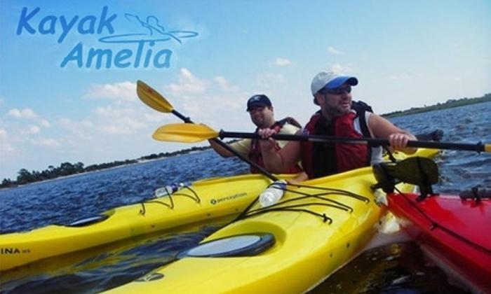 Kayak Amelia - Northside: $15 for a Four-Hour Single or Tandem Kayak Rental from Kayak Amelia (Up to $47 Value)