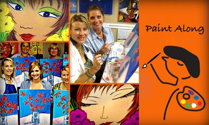 Paint and Pour - Brentwood: $15 for a Two-Hour Painting Class at Paint Along