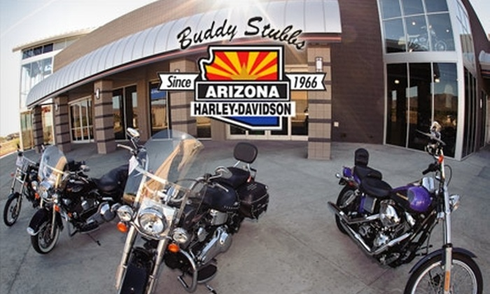 Buddy Stubbs Harley-Davidson - Paradise Valley: $25 for $50 Worth of Merchandise, Parts, and Accessories at Buddy Stubbs Harley-Davidson
