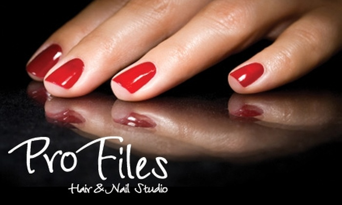 Profiles Hair and Nail Studio - Hoover: $29 for a Manicure and Pedicure at Profiles Hair and Nail Studio ($60 Value)