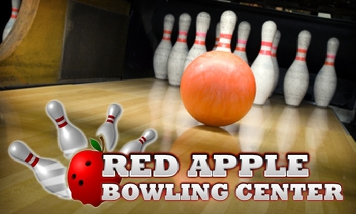 Red Apple Bowling Center - Bartlesville: $30 for a Three-Game Bowling Session for Up to Four People, Including Shoe Rental, Popcorn, and Soda at Red Apple Bowling Center in Bartlesville