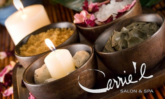 Carrie'l Salon & Spa - Oliver: $55 for a Choice of Spa Body Treatment at Carrie'l Salon & Spa ($110 Value)