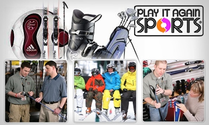 Play It Again Sports - Clay: $7 for $15 Worth of New or Gently Used Sporting Goods and More at Play It Again Sports