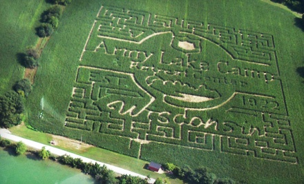 Corn-Maze Outing for 2 (up to a $24 value) - Army Lake Camp in East Troy