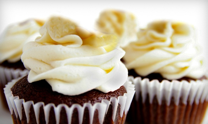 Cupcake Shoppe - Harder - Tennyson: $15 for One Dozen Classic Cupcakes at Cupcake Shoppe in Hayward (Up to $30 Value)
