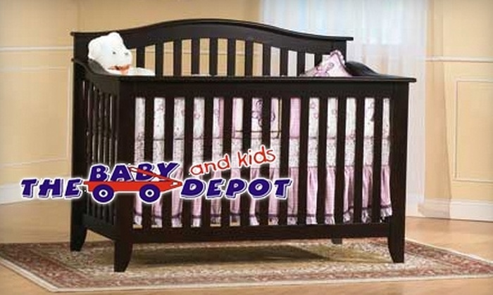 The Baby Depot - Grand River North: $50 for $100 Worth of Furniture and Accessories at The Baby Depot
