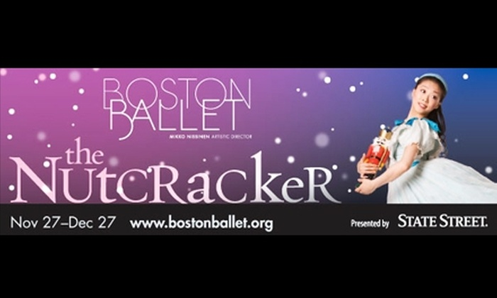 Boston Ballet  - Boston: $60 Tickets to 'The Nutcracker' at Boston Ballet ($102 Value). Buy Here for Friday, November 27, at 7:30 p.m. Additional Dates Below.