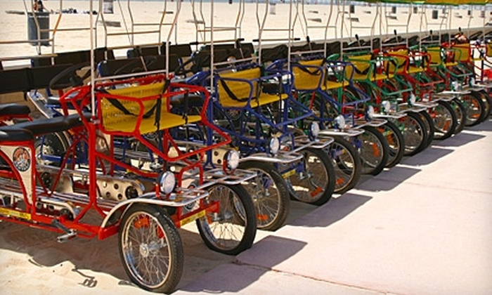 Waterfront Adventures - Huntington Beach: $15 for $30 Worth of Bike and Beach-Toy Rentals from Waterfront Adventures in Huntington Beach