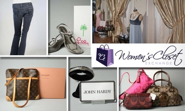 Women's Closet Exchange - Sappington: $50 Worth of Pre-Owned Designer Clothing at Women's Closet Exchange