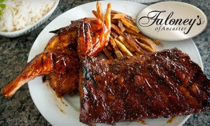 Faloney's of Ancaster - Ancaster: $15 for $30 Worth of Steaks and Upscale Fare at Faloney's of Ancaster