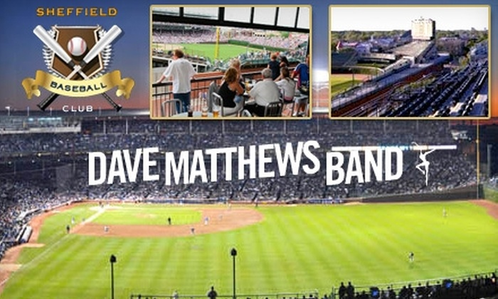 Sheffield Baseball Club - Multiple Locations: Rooftop Club Tickets for Chicago Cubs Game or Dave Matthews Band Concert. Multiple Dates Available for Cubs Game.