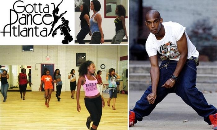 Gotta Dance Atlanta - Underwood Hills: Five Dance Classes for $32 at Gotta Dance Atlanta