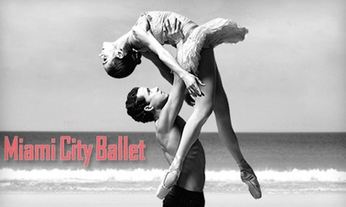 Miami City Ballet - Sailboat Bend: Tickets to Miami City Ballet. Choose from Four Performances and Two Seating Options.
