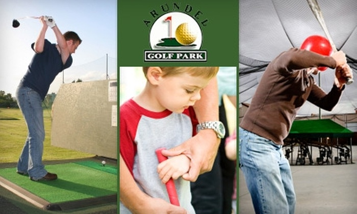 Arundel Golf Park - 5: $25 for a Family Fun Pack Toward the Driving Range, Mini Golf, and Batting Cages at Arundel Golf Park