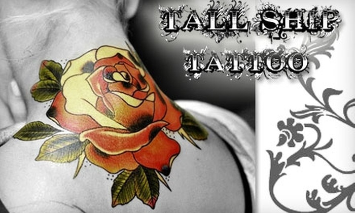 Tall Ship Tattoo‎ - Uptown Waterloo: $45 for $100 Worth of Tattoo Services at Tall Ship Tattoo