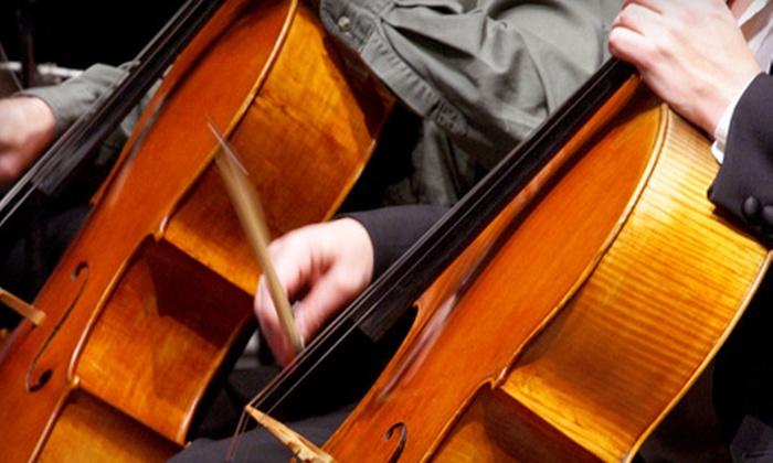 Santa Cruz County Symphony - Downtown Santa Cruz: Season Tickets for One or Two to the Santa Cruz County Symphony