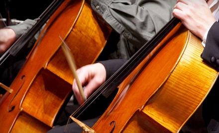 Santa Cruz County Symphony: Season Tickets for 1 (a $135 value) - Santa Cruz County Symphony in Santa Cruz