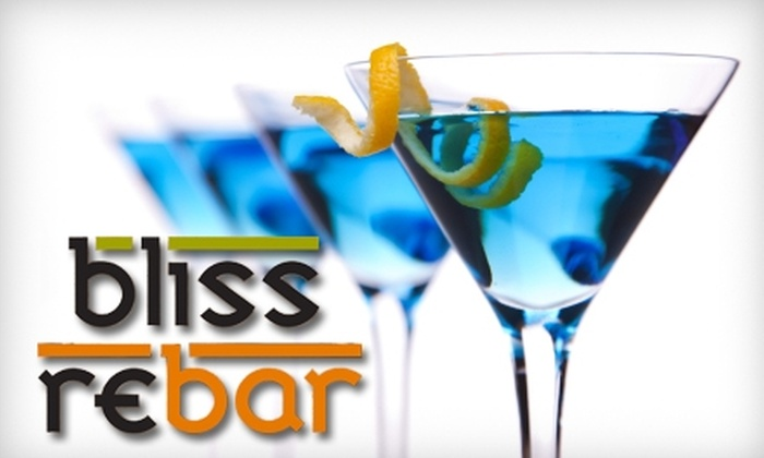 Bliss/ReBar - Downtown Phoenix: $12 for $25 Worth of American Comfort Food and Drinks at Bliss/ReBar (Worth $30 if Used Monday through Friday for Lunch)