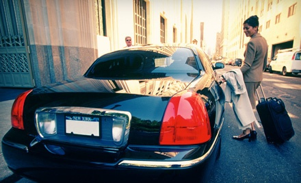 1-Way Trip to the Airport in a Lincoln Town Car (an $80 value) - Private Transporter in