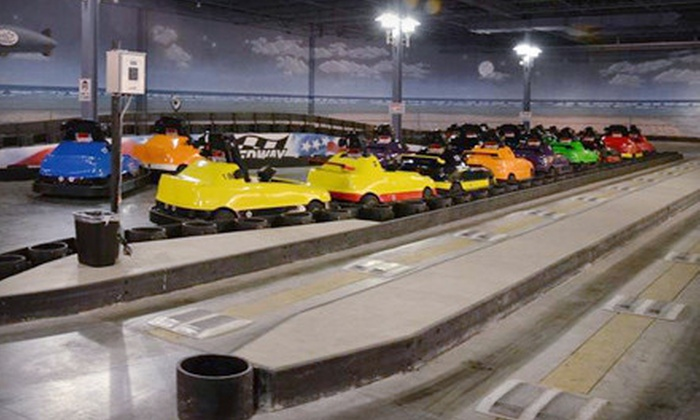 iPlay America - Freehold: Indoor-Theme-Park Outing with $40 iPA Card for One, Two, or Four at iPlay America in Freehold Township (Up to 57% Off)