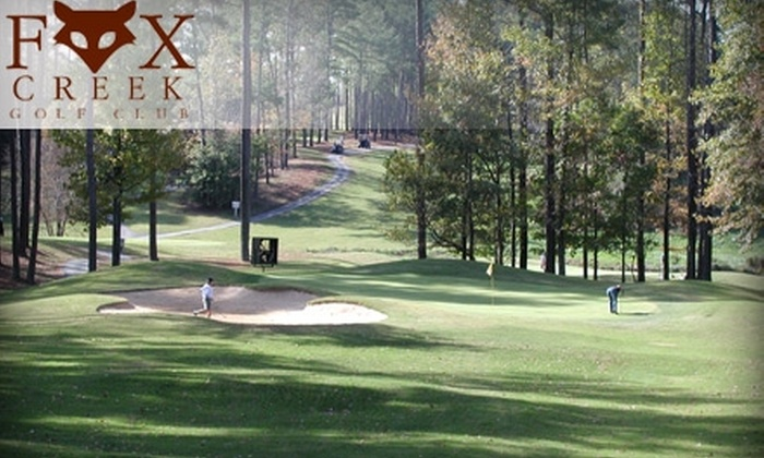 Fox Creek Golf Club - Smyrna: $79 for Two 45-Minute Golf Lessons and a Round of Golf with Cart at Fox Creek Golf Club in Smyrna ($161 Value)