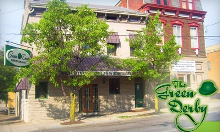 The Green Derby - Newport: $10 for $20 Worth of American Fare at The Green Derby
