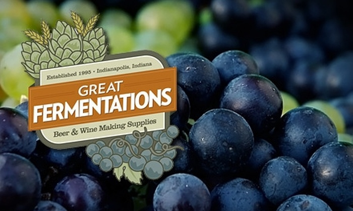 Great Fermentations - Eastwood: $99 for a Complete Wine-Making Kit from Great Fermentations (Up to $278.09 Value)